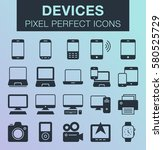 set of pixel perfect devices...