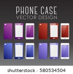 set of covers and backgrounds... | Shutterstock .eps vector #580534504