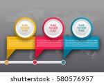 info graphic template.... | Shutterstock .eps vector #580576957