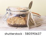 food on jar | Shutterstock . vector #580590637
