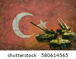 turkey army  military forces   Shutterstock . vector #580614565