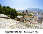 denia alicante view from castle | Shutterstock . vector #58062475