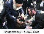 meron israel  may 26  2016 ... | Shutterstock . vector #580631305