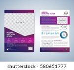 business brochure  leaflet ... | Shutterstock .eps vector #580651777