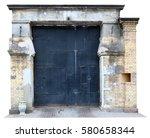 Vintage Prison Aged Iron Gate...