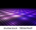abstract colorful dance floor...   Shutterstock . vector #580669669