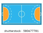 sample sport field arens of... | Shutterstock .eps vector #580677781