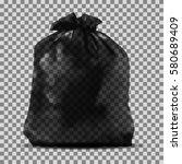 garbage bag   Shutterstock .eps vector #580689409