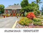 saint leu  la reunion   france  ... | Shutterstock . vector #580691659