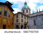 Medieval Como Cathedral On Lak...
