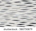 modern decorative wall  3d...   Shutterstock . vector #580750879