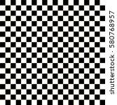 checkered flag. racing flag... | Shutterstock .eps vector #580768957