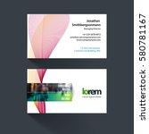 vector business card template...   Shutterstock .eps vector #580781167