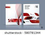 business vector template.... | Shutterstock .eps vector #580781344