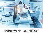 atuomatic screw feeder in cell... | Shutterstock . vector #580783531