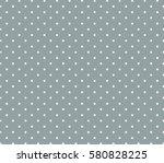 Grey Background Polka Dot...