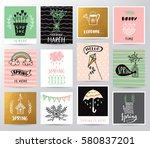 spring illustration | Shutterstock .eps vector #580837201