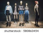 women clothing store | Shutterstock . vector #580863454