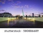 "the ""puente de la mujer""  in...   Shutterstock . vector #580886689"