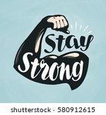 gym  fitness  sport banner.... | Shutterstock .eps vector #580912615