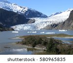 Small photo of An Alaskan Glacier