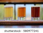 selection of three craft beers...   Shutterstock . vector #580977241