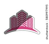 city buildings symbol icon