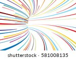 abstract line vector background | Shutterstock .eps vector #581008135