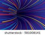 abstract line vector background | Shutterstock .eps vector #581008141