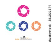 shutter vector .camera...   Shutterstock .eps vector #581031874