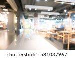 abstract blur and bokeh... | Shutterstock . vector #581037967