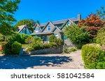 big custom made luxury house...   Shutterstock . vector #581042584