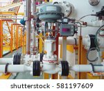 level control valve open or... | Shutterstock . vector #581197609