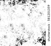black and white grunge texture | Shutterstock . vector #581201359