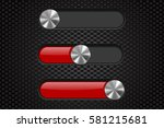 interface slider bar. red bar...
