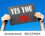 black card placard with the... | Shutterstock . vector #581229604