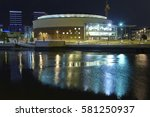 waterfront hall on the shores...