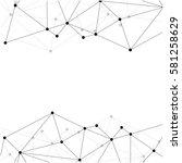 technology concept slide for... | Shutterstock .eps vector #581258629