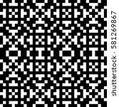 vector seamless pattern.... | Shutterstock .eps vector #581269867