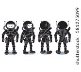 Alien Spaceman Turnaround ...