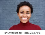 close up portrait of young... | Shutterstock . vector #581282791