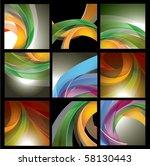 vector abstract background | Shutterstock .eps vector #58130443
