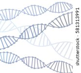 Dna Illustration Isolated On...