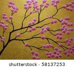 Cherry Tree   Original Oil...