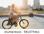 lifestyle and health in the... | Shutterstock . vector #581375461