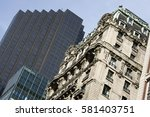 new york city  usa. | Shutterstock . vector #581403751