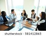 entrepreneurs and business... | Shutterstock . vector #581412865