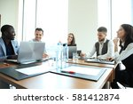 entrepreneurs and business... | Shutterstock . vector #581412874