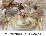 Vintage Wedding Table Setting...