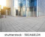 windows of skyscraper business... | Shutterstock . vector #581468134